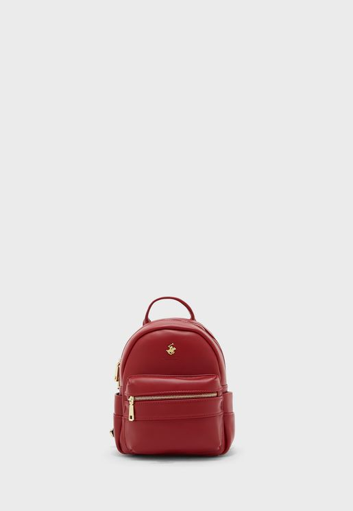 Mid Zip Backpack