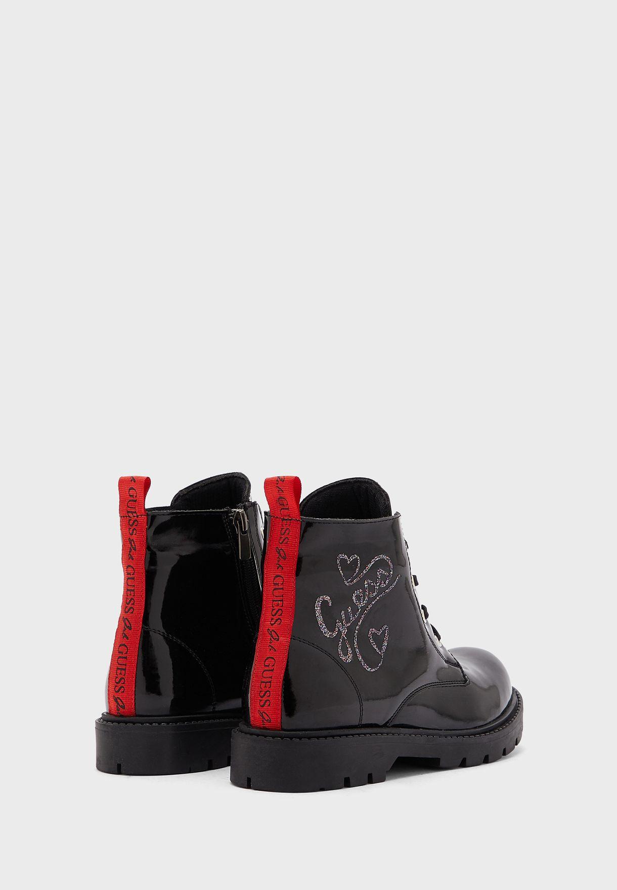 Teen Back Loop Boot