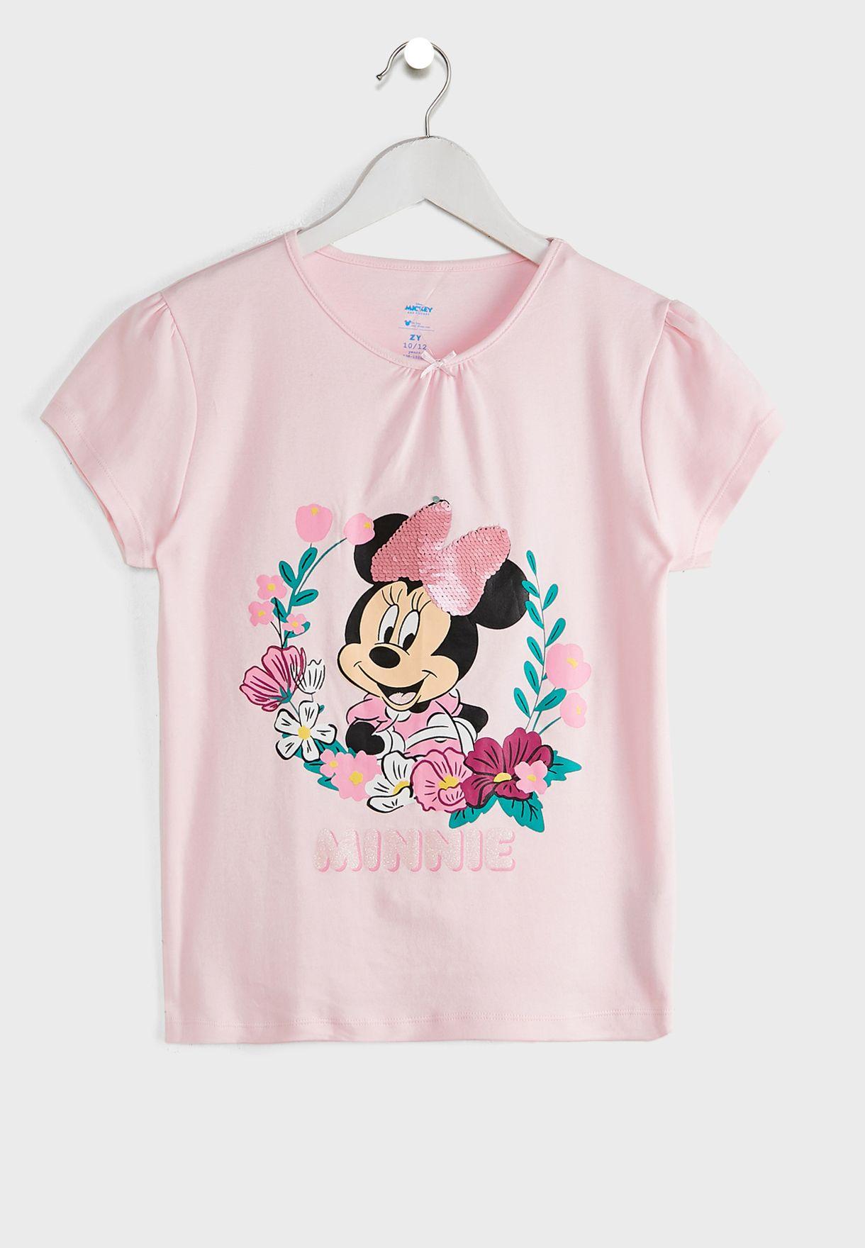 Kids Minnie Mouse Pyjama Set