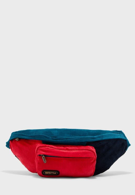 Engineering  Corduroy Waist Bag