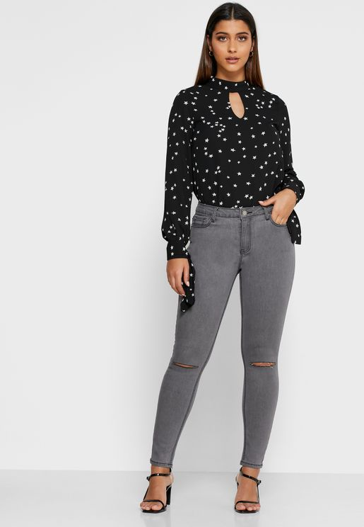 Ankle Grazer Skinny Jeans
