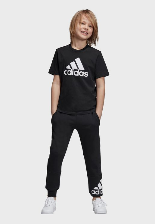 e7b17f84c05a Youth Must Have Badge Of Sport T-Shirt. adidas