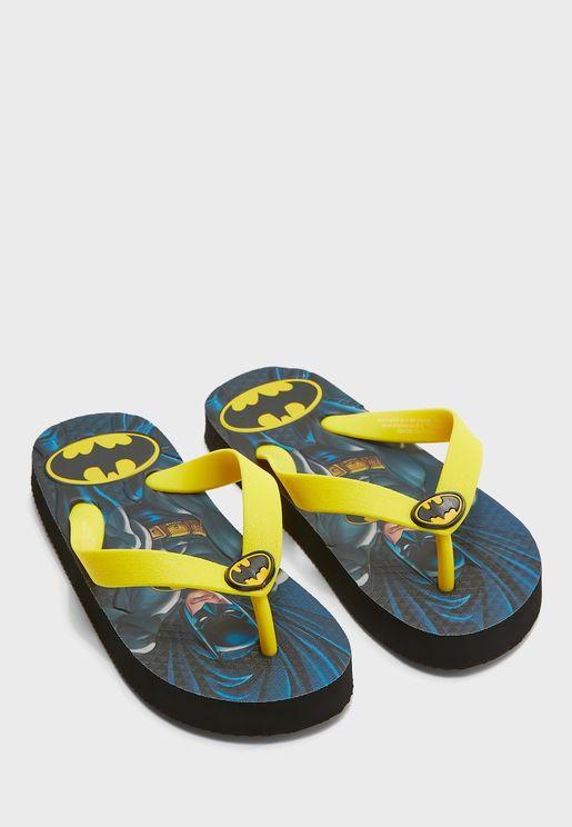 صندل بطبعات باتمان للاطفال