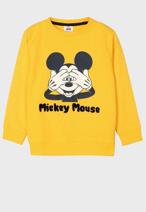 Kids Mickey Mouse Sweatshirt