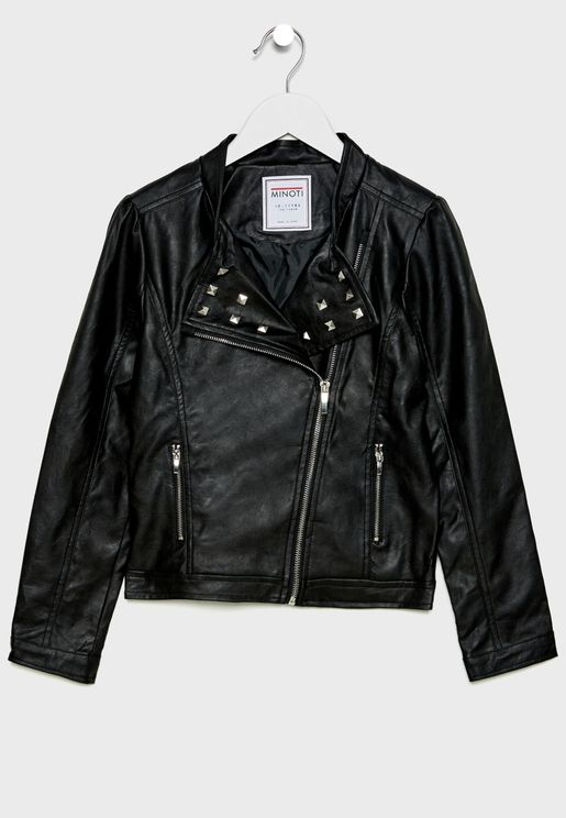 Kids Studded Jacket
