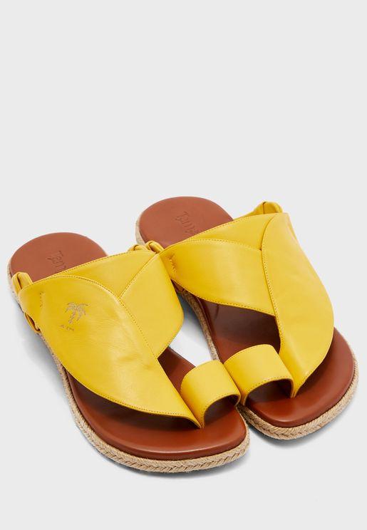 Saafa Wide Strap Sandals