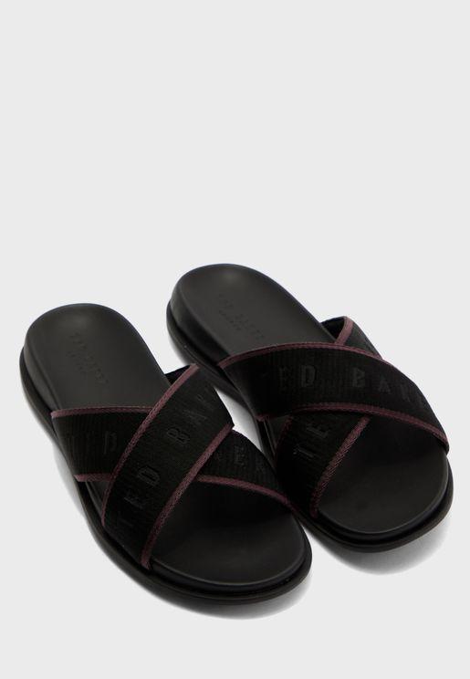 Mablar Cross Strap Sandals