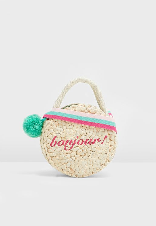 Kids Knitted Bag