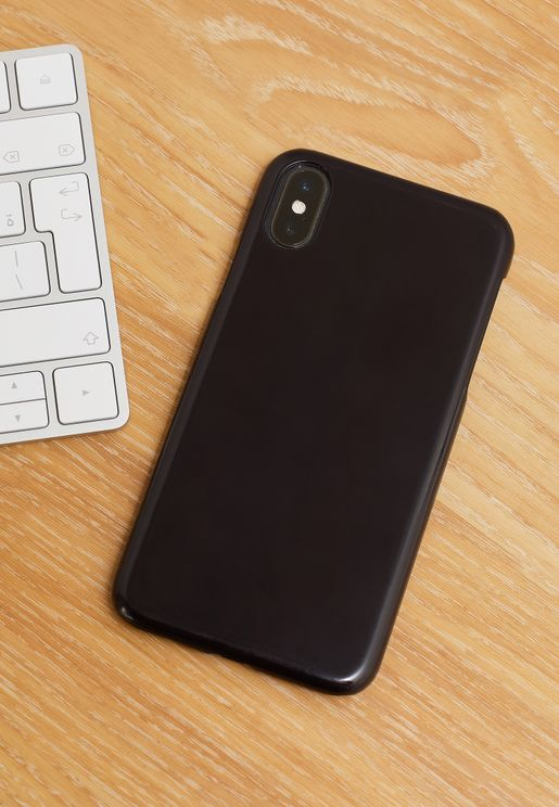 Block Black iPhone Case Multi Size