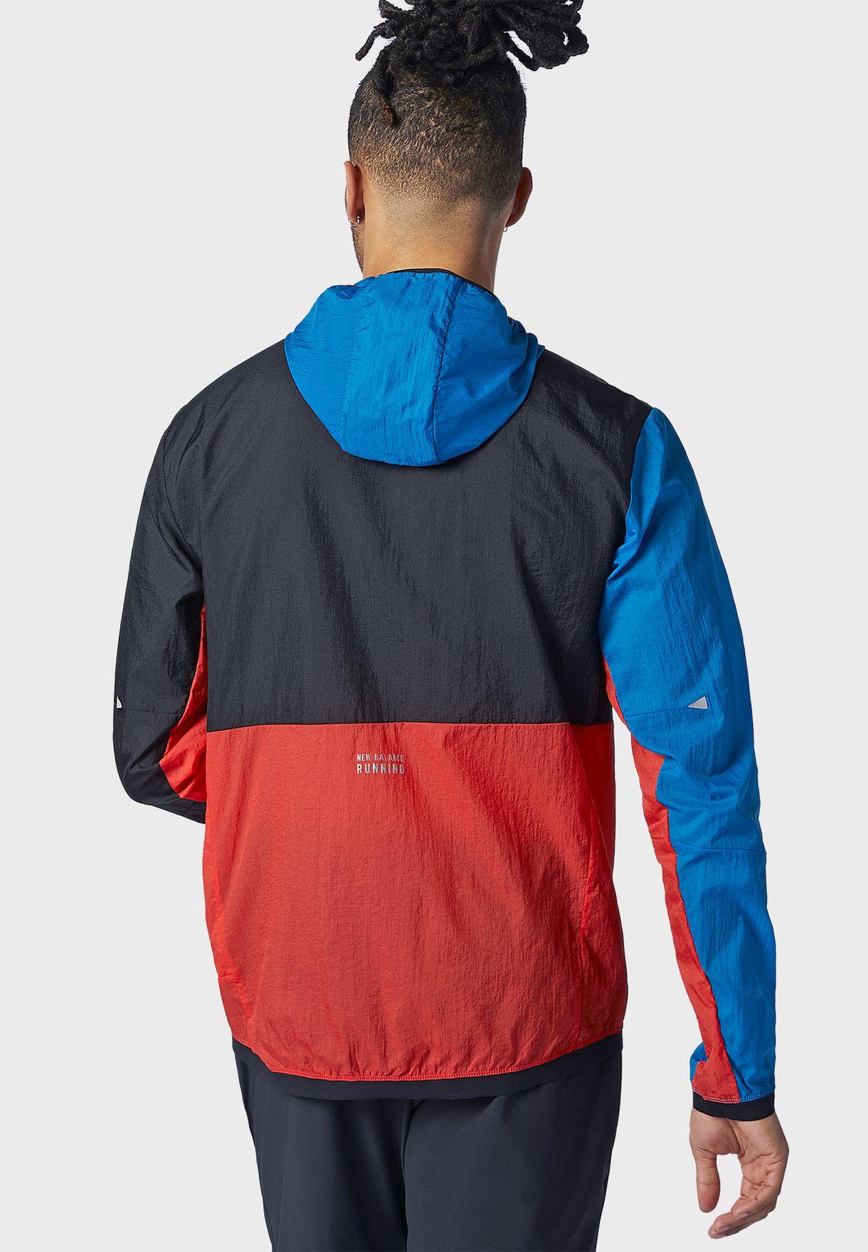 Impact Run Printed Jacket