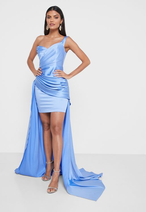 Iman Cape Dress