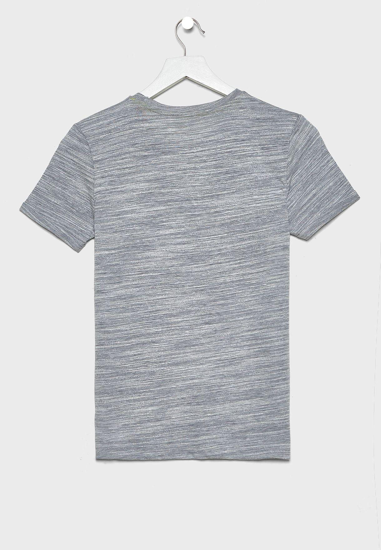 Kids Textured T-Shirt