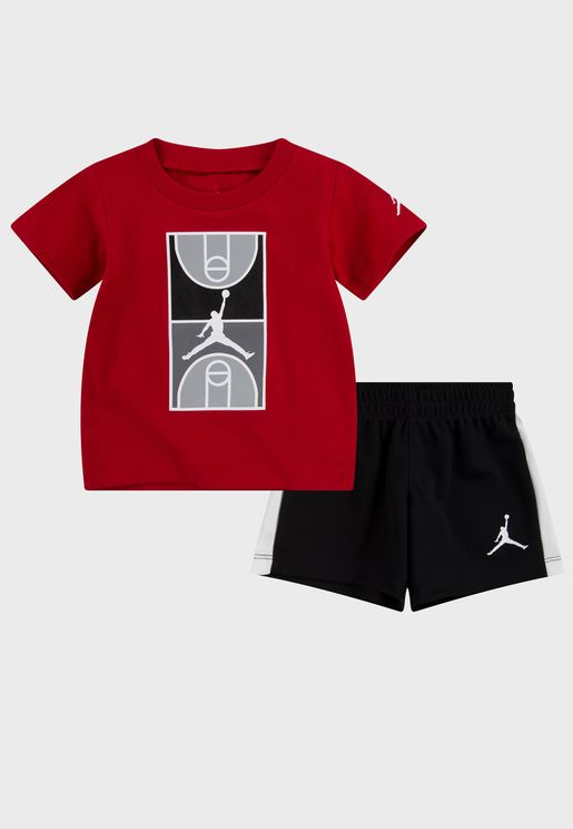 Infant Jordan Graphic Set