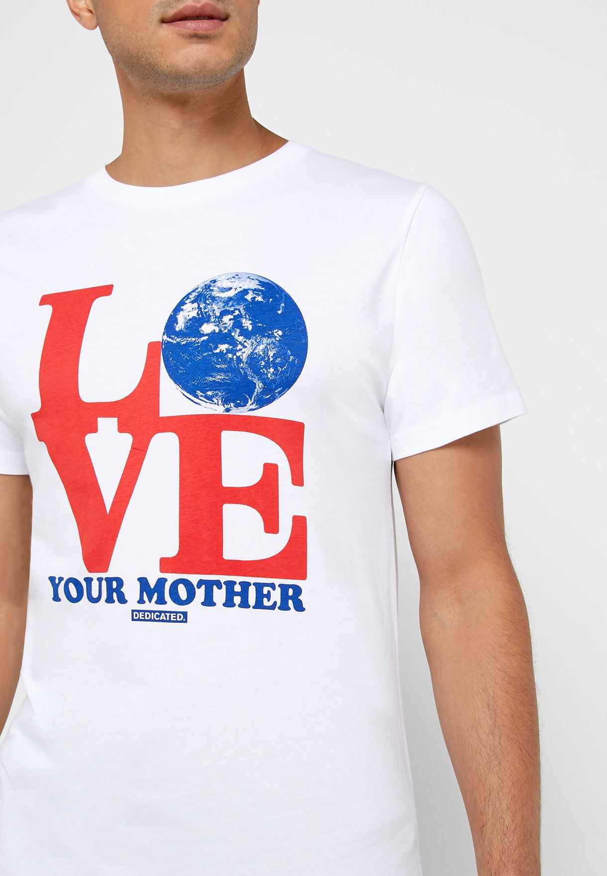 Stockholm Love Mother Crew Neck T-Shirt