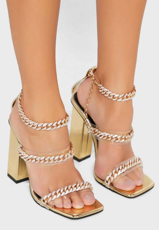 Celebrity High Heel Sandal