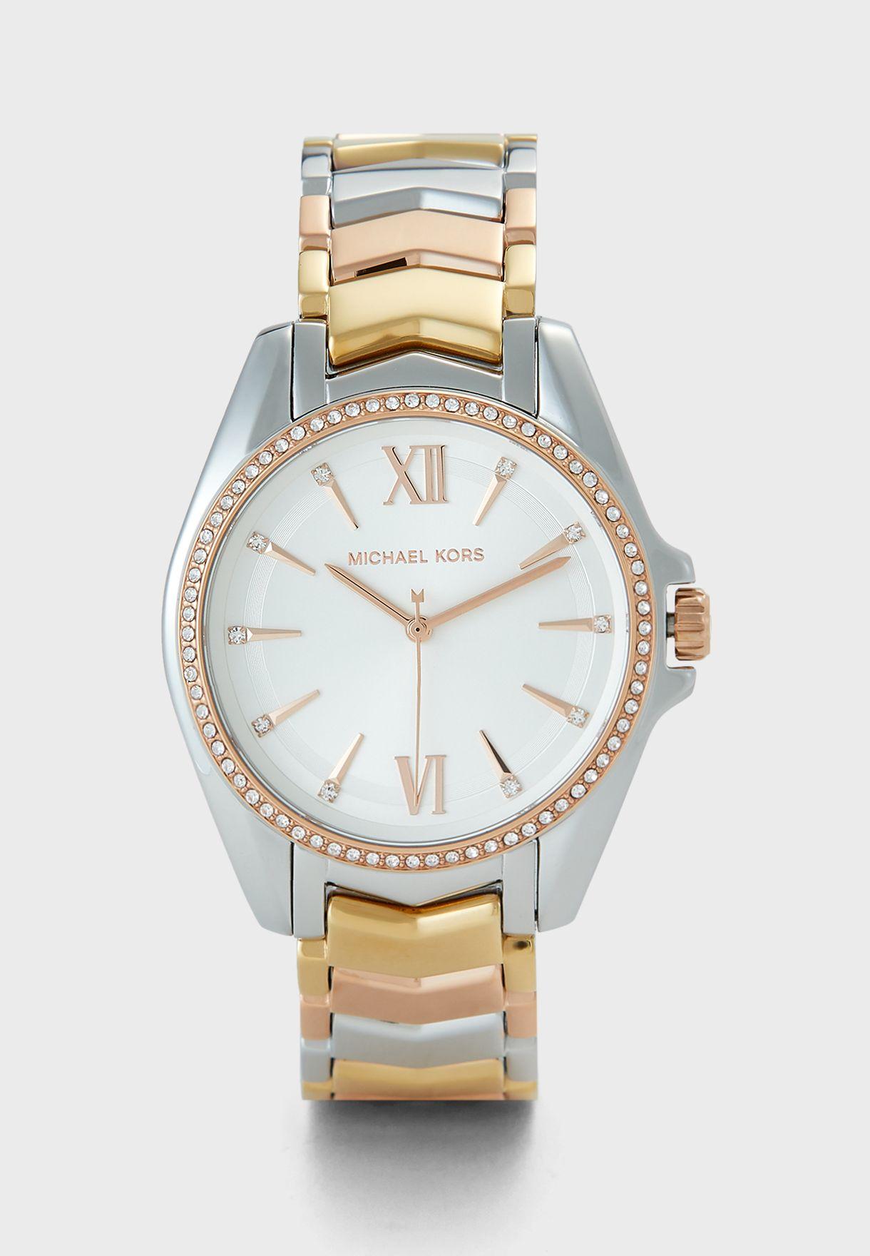 Whitney Steel Strap Watch