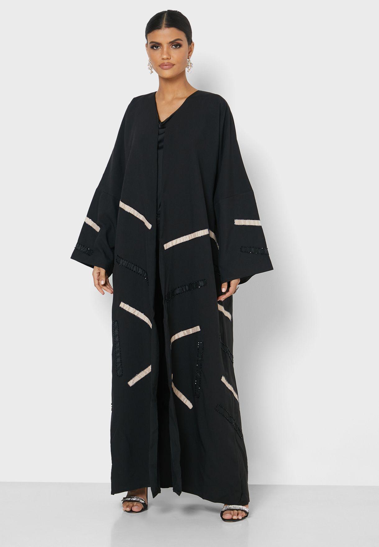 Contrast Detail Abaya