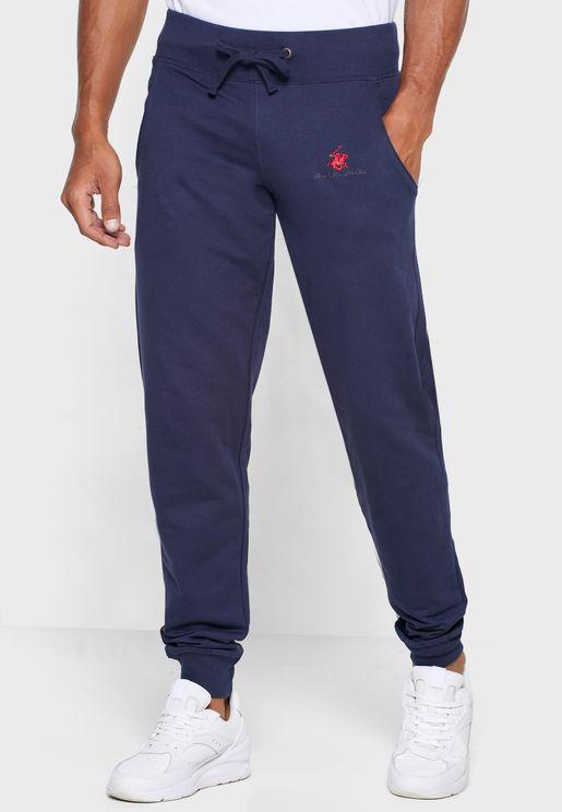 Elasticated Waist Slim Fit Track Pants