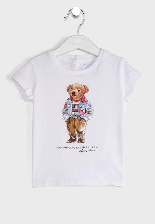 Infant Bear Print T-Shirt