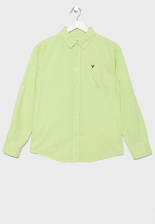 Kids Oxford Button Down Shirt