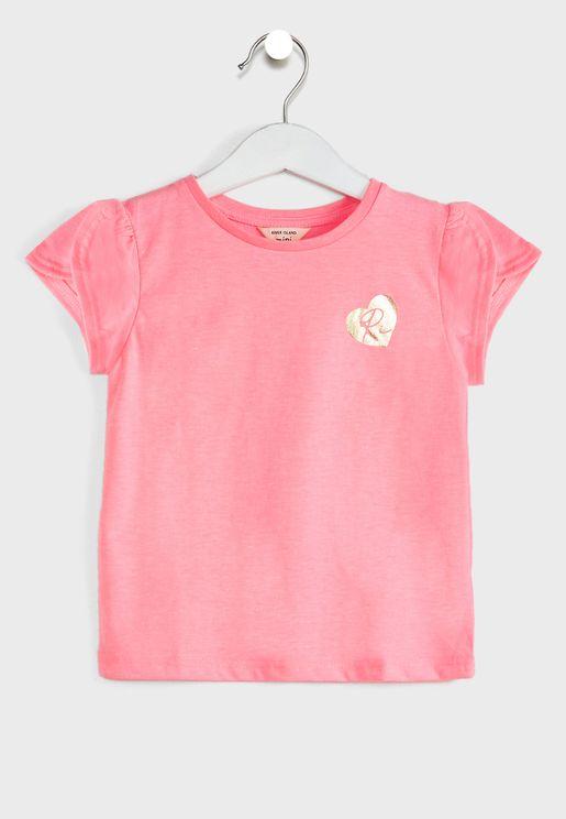 Kids Tulip Sleeve T-Shirt