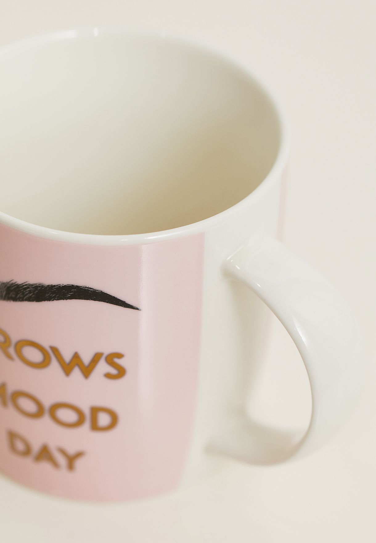 Good Brows Slogan Mug