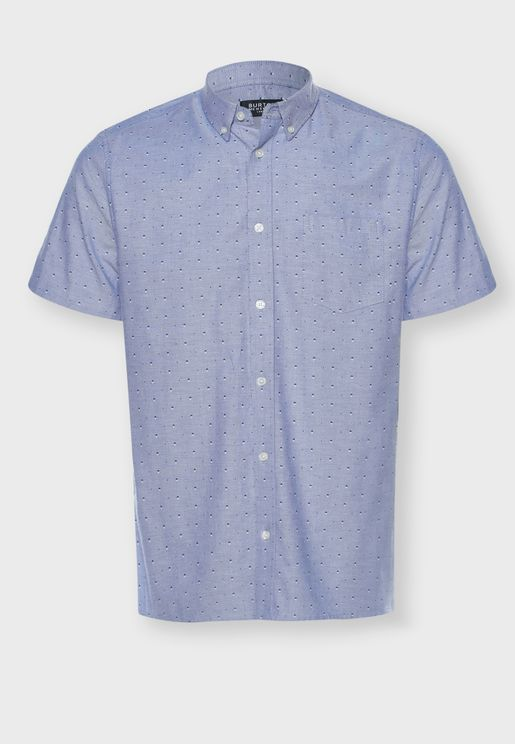 Ditsy Oxford Regular Fit Shirt