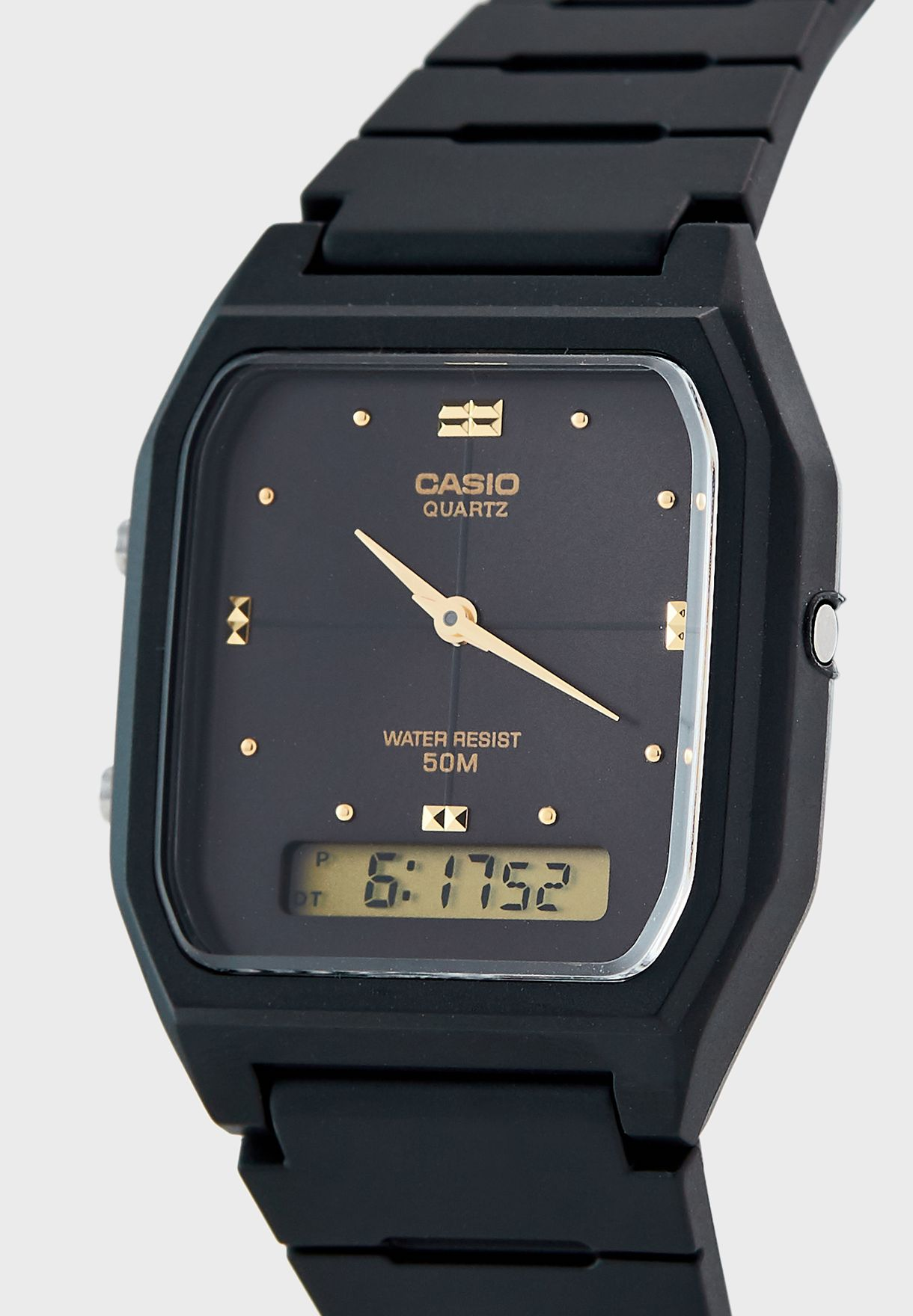 Dual Timer Analog Watch