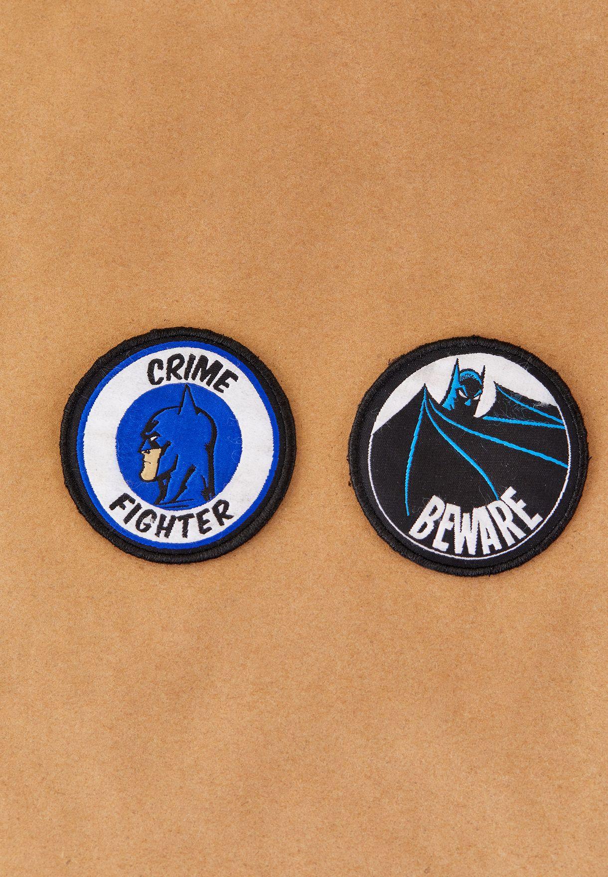 Medium Gotham Defender Duo Badge Pack