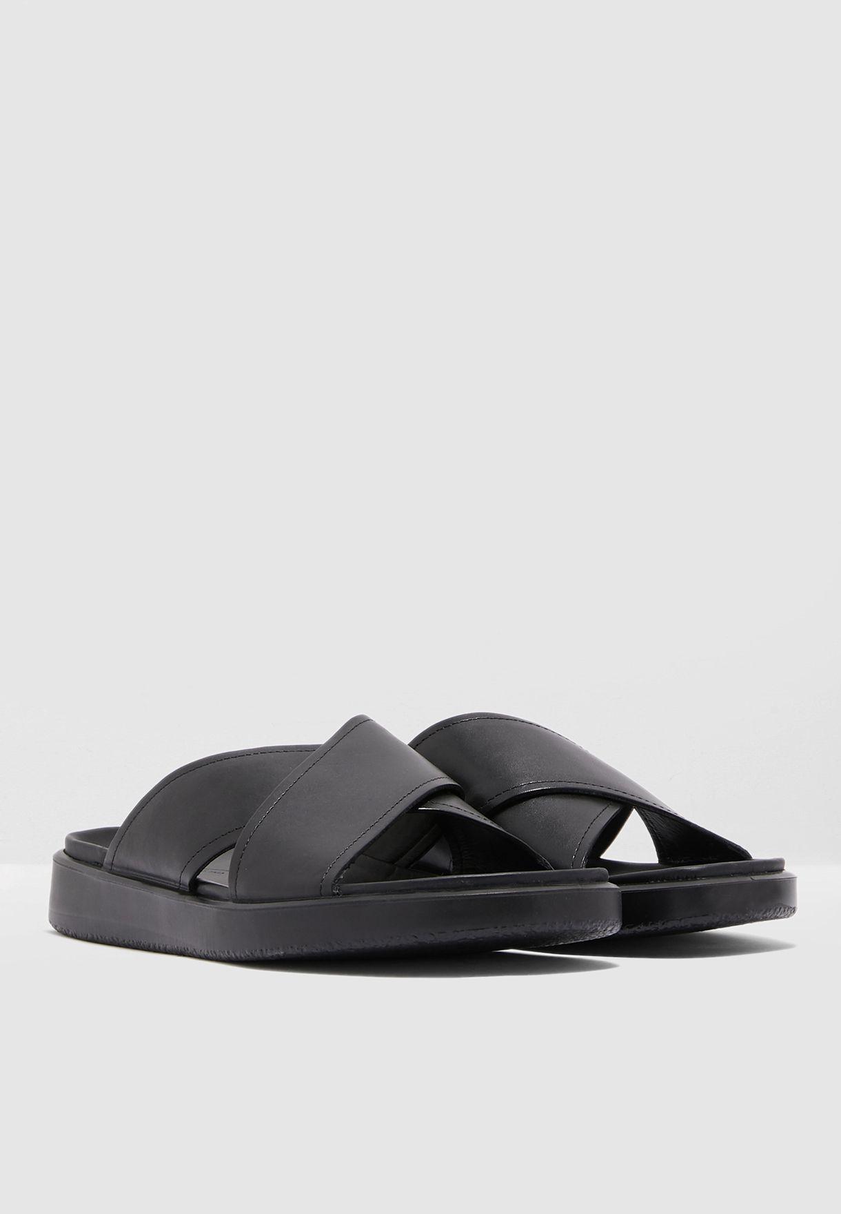 Flowt LX Cross Strap Slide Sandals