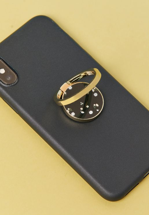 Floral Phone Ring