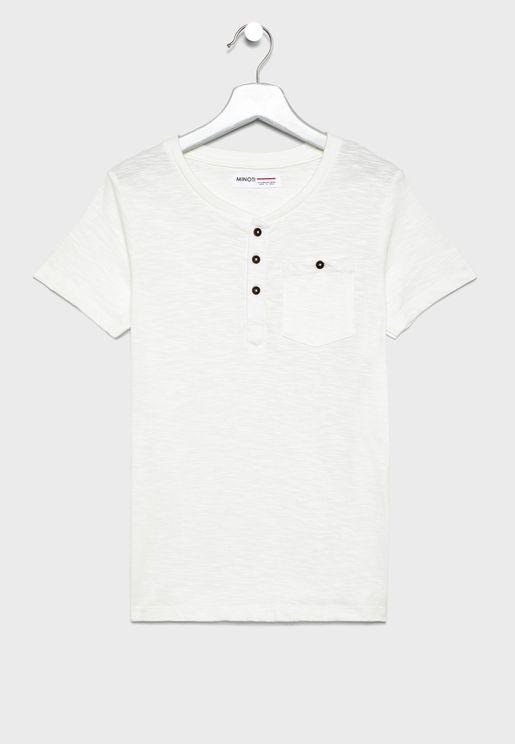 Kids Henley T-Shirt