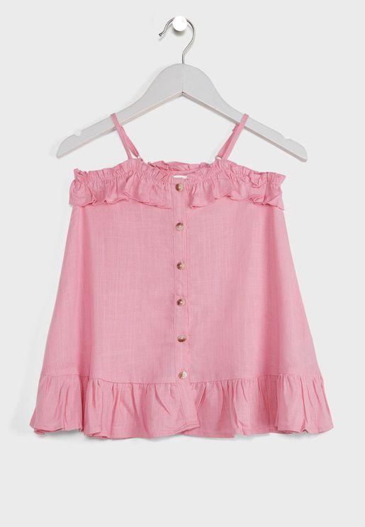 فستان بازرار للاطفال