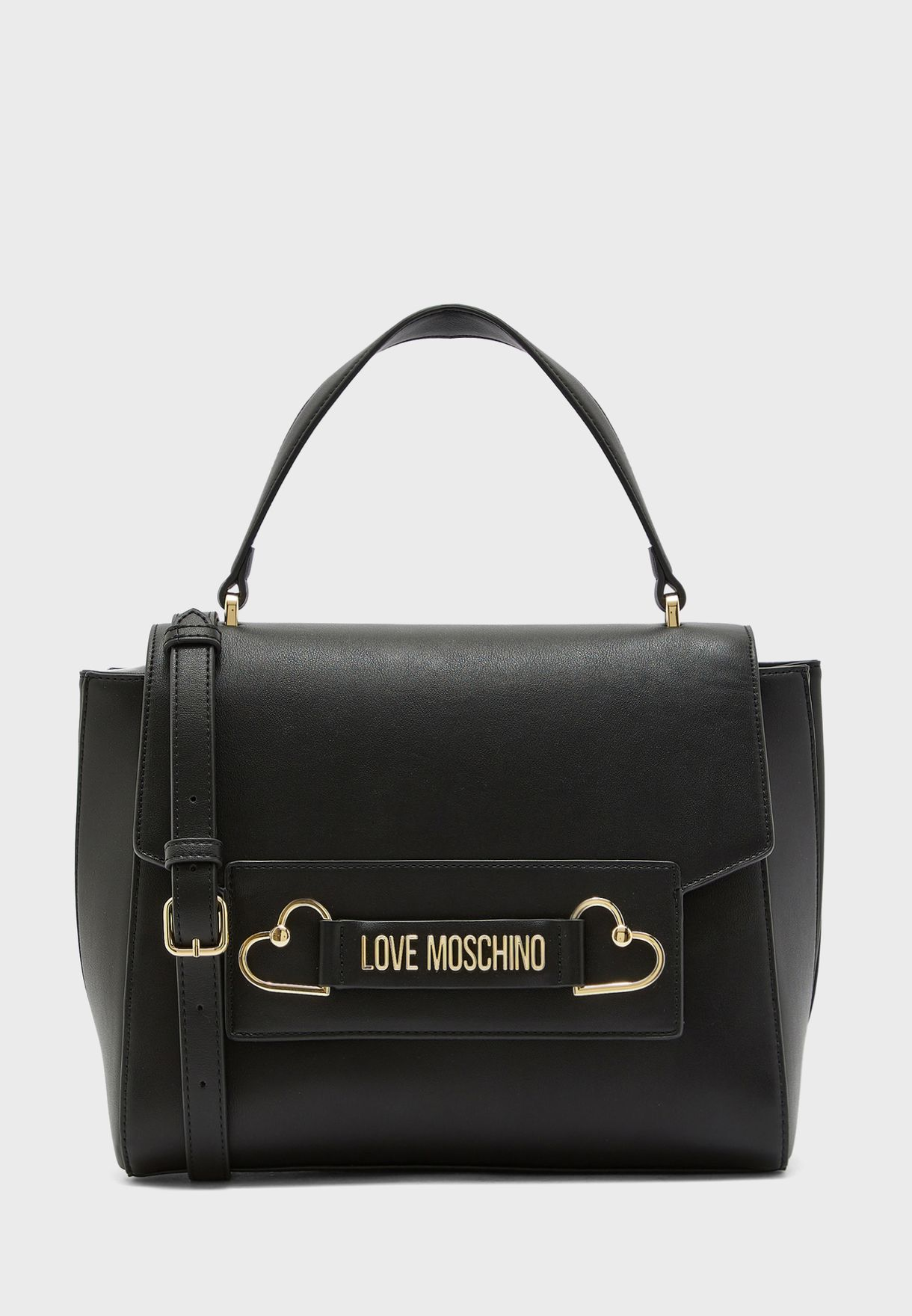 Top Handle Belted Satchel