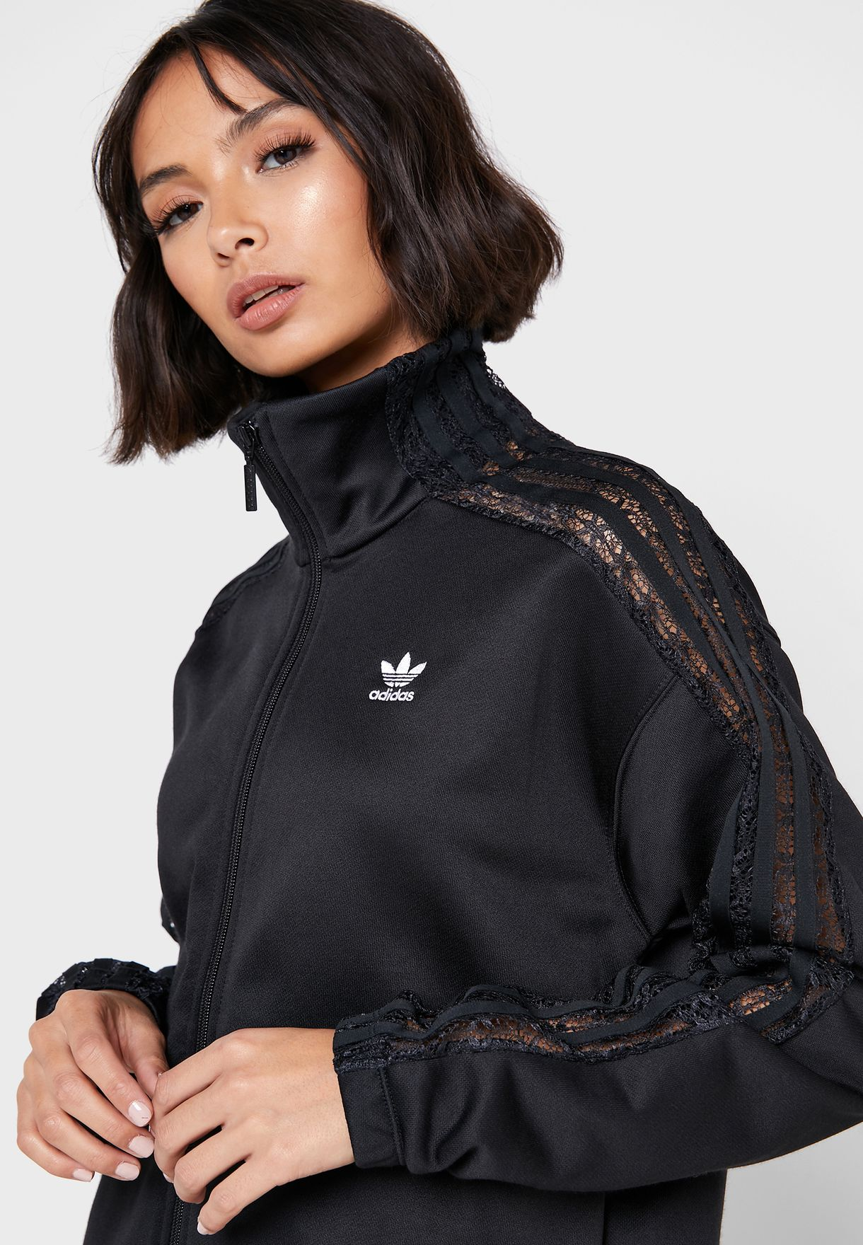 3 Stripe Lace Track Jacket