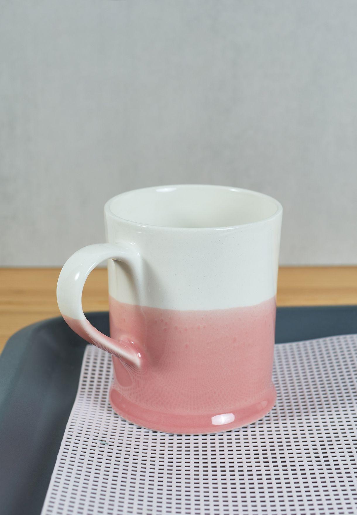 Pink Colour Dip Mug