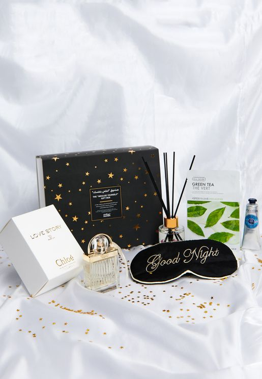 The Indulge Yourself Gift Box Worth 596 Aed / 622 Sar