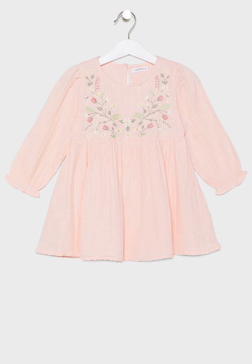 Infant Embroidered Dress