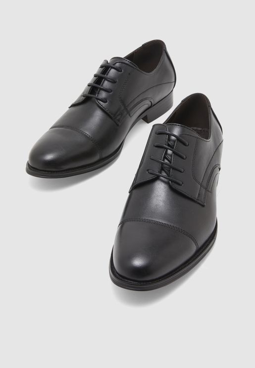Faux Leather Formal Lace Ups
