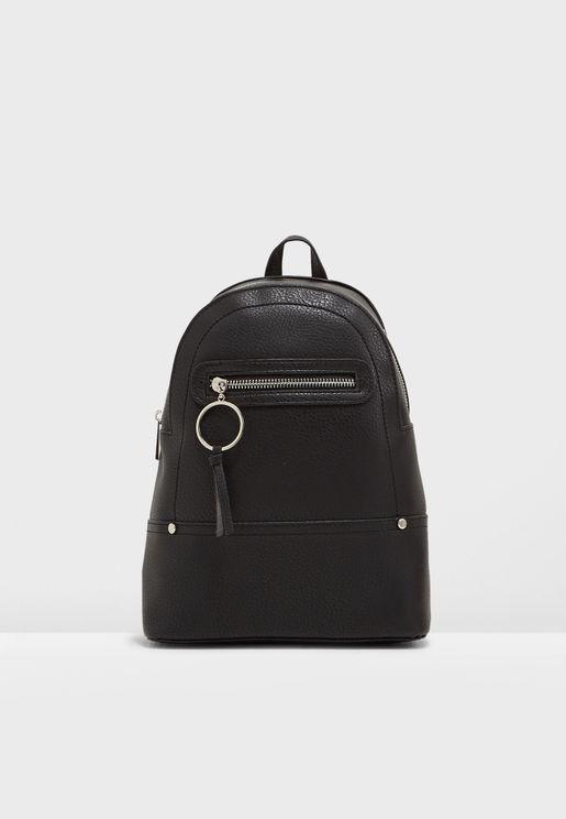 Peony Zip Mini Backpack