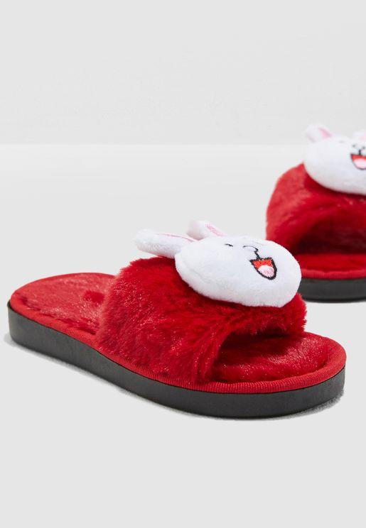 Bunny Slippers