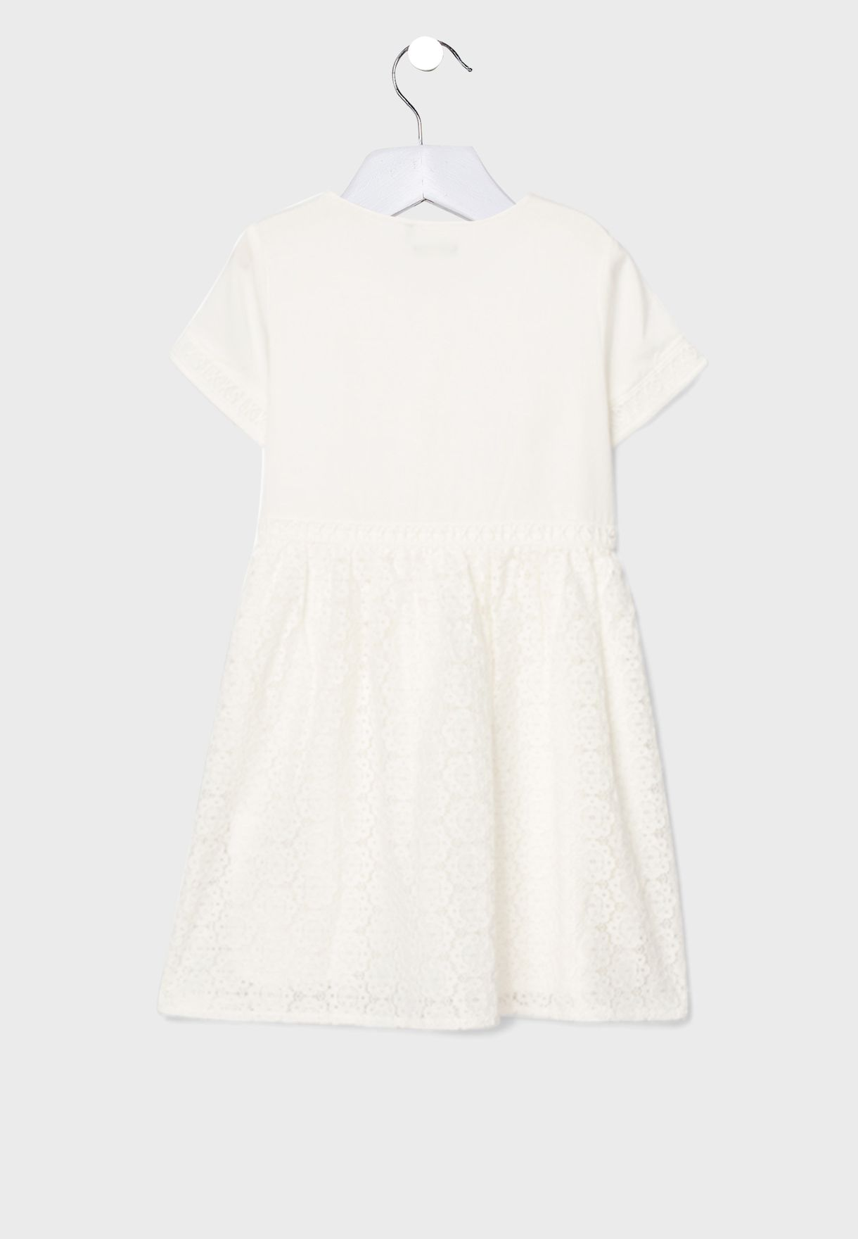 Kids Button Detail Dress