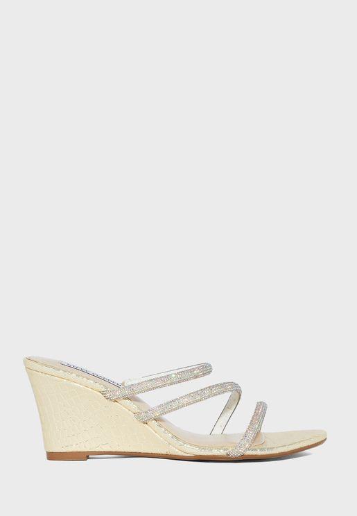 Sb-Megan High Heel Wedge Sandals