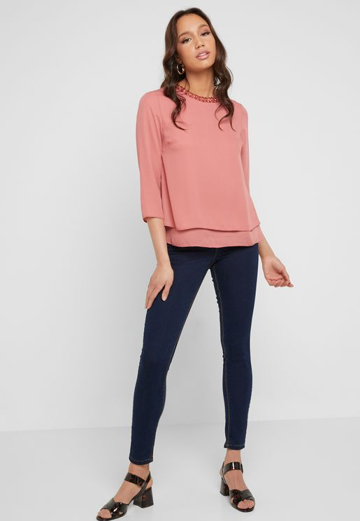 Bailey Mid Rise Skinny Jeans