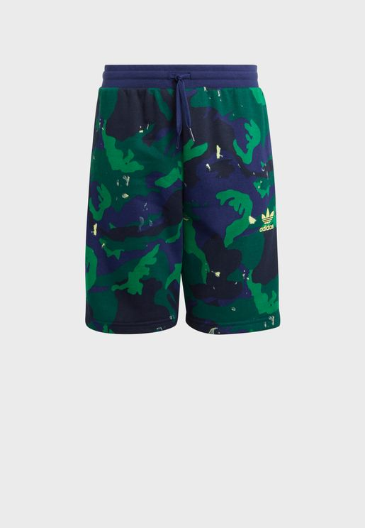Youth Camo Shorts