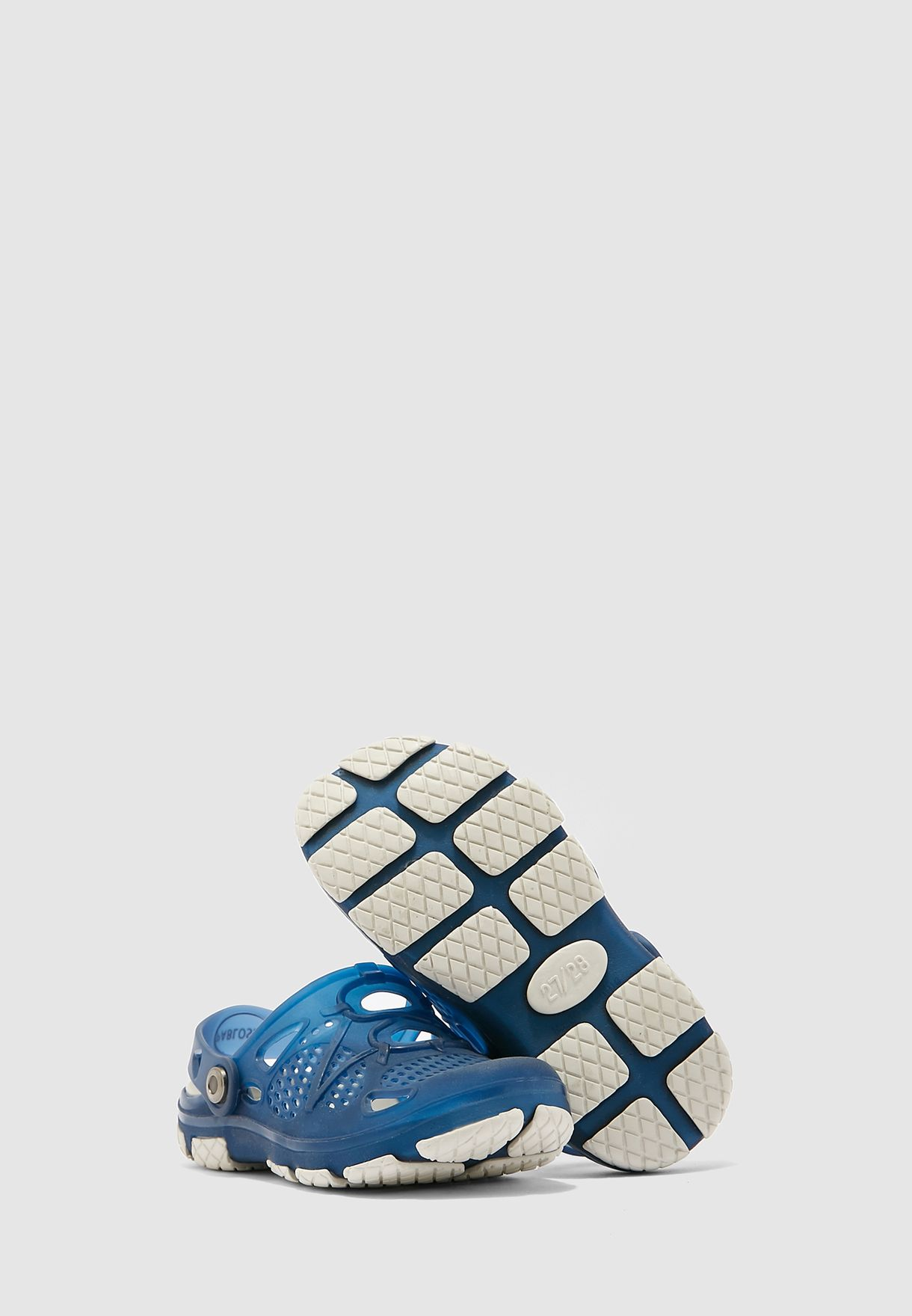 Youth Perforated Mule Slip On
