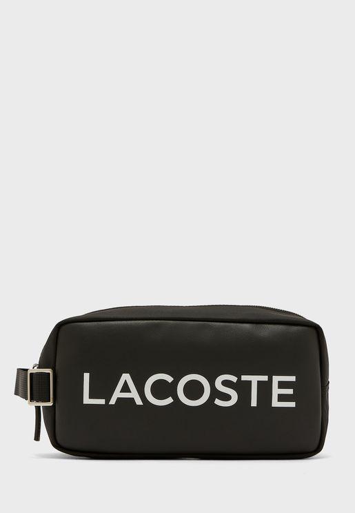 L.12.12 Branded Zip Toiletry Bag