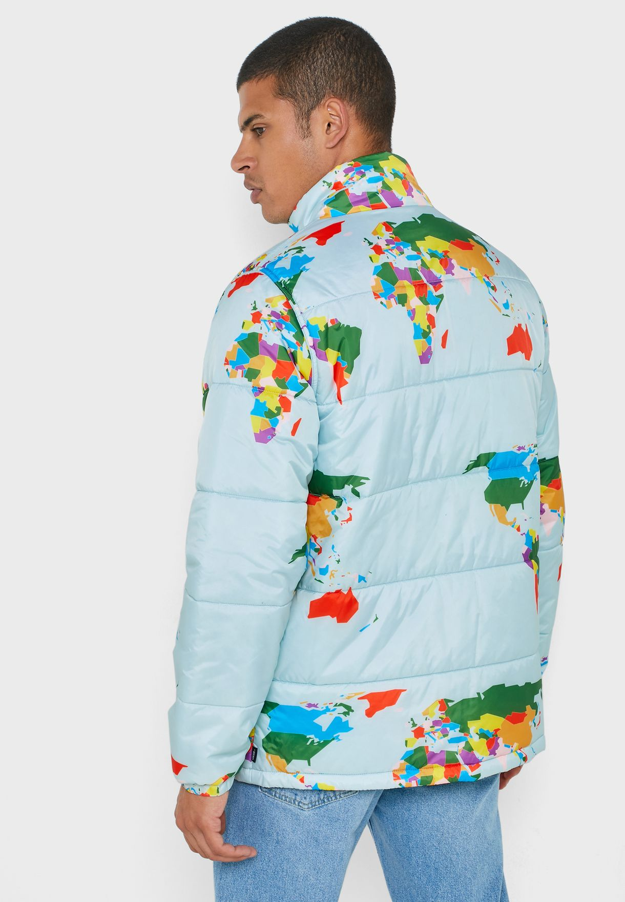 Save Our Planet Puffer Jacket
