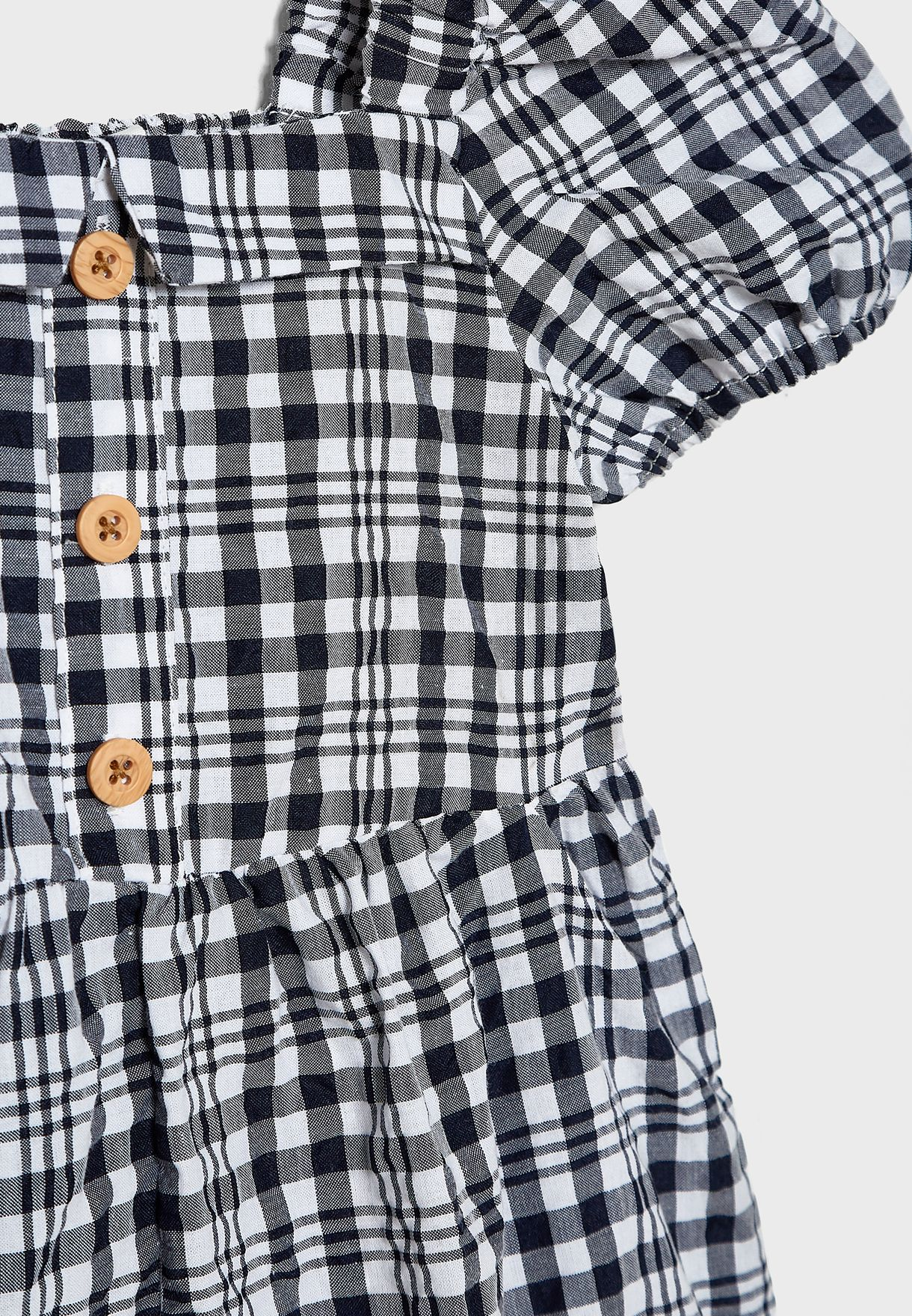 Kids Checked Playsuit