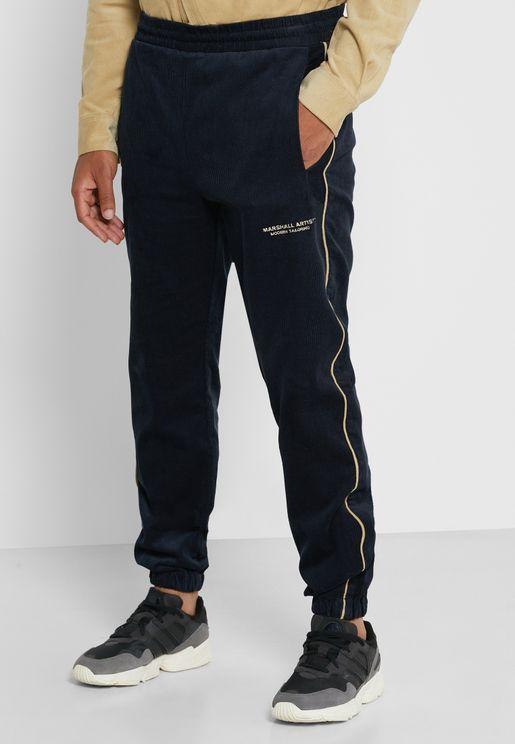 Cord Track Pants